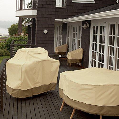 Classic Accessories Patio-Heizpilz-Abdeckung für die Terrasse, Kiesel, Passend für Heizpilze bis zu 86,36 cm Kuppel und 46,99 cm Boden - 4