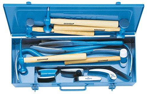 Gedore 280 - Juego de herramientas para carroceros 12 piezas