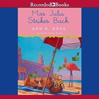 Miss Julia Strikes Back audiobook cover art
