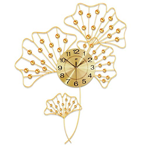 GAL Reloj de Metal Reloj de Pared Creativo salón Estilo Pastoral de Hierro Forjado Decorativo casa de Moda Reloj de Cuarzo Reloj electrónico 88 * 69 * 24cm