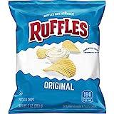 Ruffles Original Potato Chips, 1 Ounce (Pack of 40)