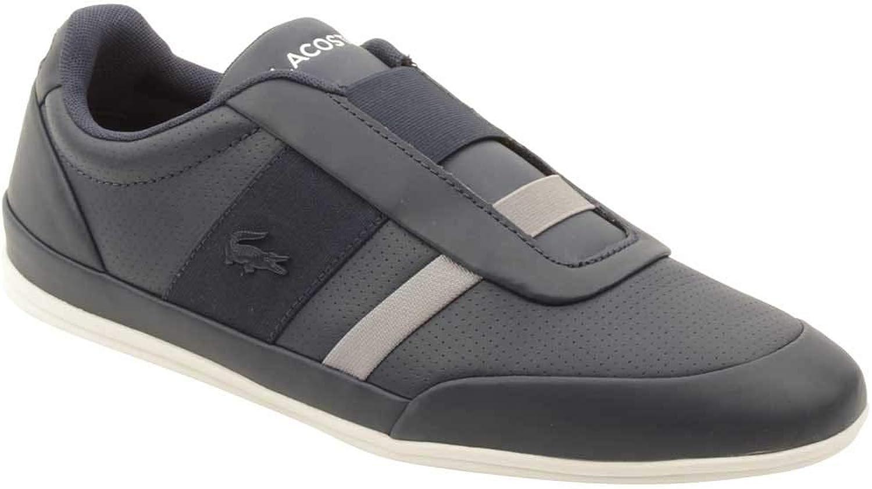 Lacoste Mens Misano Elastic 318 1 Leather Ortholite Casual shoes