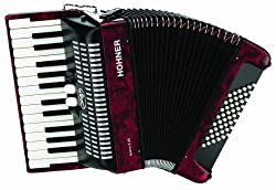 Hohner Accordions BR48R-N 26-Key Piano Accordion - Best Piano Accordions