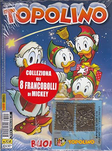 TOPOLINO CON FRANCOBOLLI n 3291