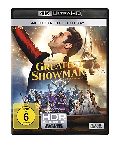 Greatest Showman (4K Ultra HD) [Blu-ray]
