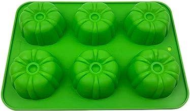 Halloween 6-Holte Siliconen 3D Taart Fondant Mallen Voor Bakken Mousse Chocolade Snoep Schimmel Chocoladevormen Kit Diy Ge...