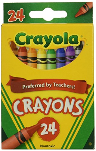 Wholesale: One Case of Crayola Crayons 24 Count (Case Contains 48 Boxes), Standard