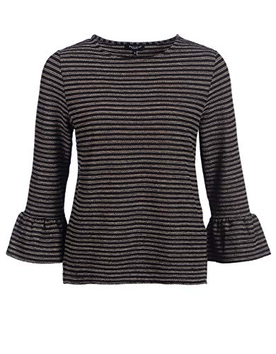 Bexleys Woman by Adler Mode Damen Leichtes Sommer-Shirt schwarz/Ecru S