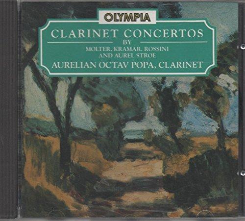 Klarinettenkonzerte von Molter, Krommer, Rossini und Strö