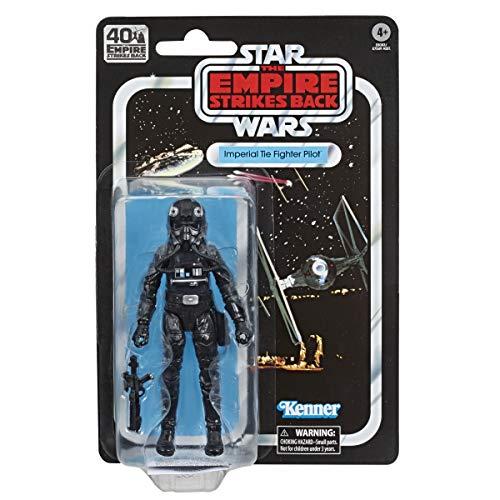 Hasbro Star Wars The Black Series Imperialer TIE-Jägerpilot 15 cm große Star Wars: Das Imperium schlägt zurück 40-jähriges Jubiläum Figur zum Sammeln