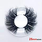 3D False Eyelashes Extension 25mm Long Lashes for Women's Make Up Handmade Soft Fake Eyelash (NEW5)