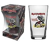 Iron Maiden Nombre de The Beast Bière Verre ( Rz )