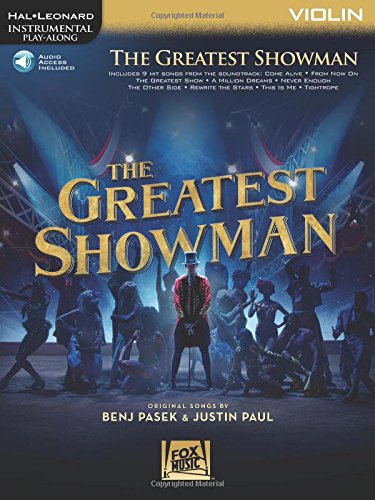 The Greatest Showman: Instrumental Play-Along Series for Violin (Hal...