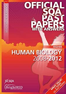 Human Biology Higher Sqa Past Papers 2012 (Official Sqa Past Papers with Answers)