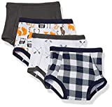Hudson Baby Unisex Baby Cotton Training Pants, Forest, 4 Toddler