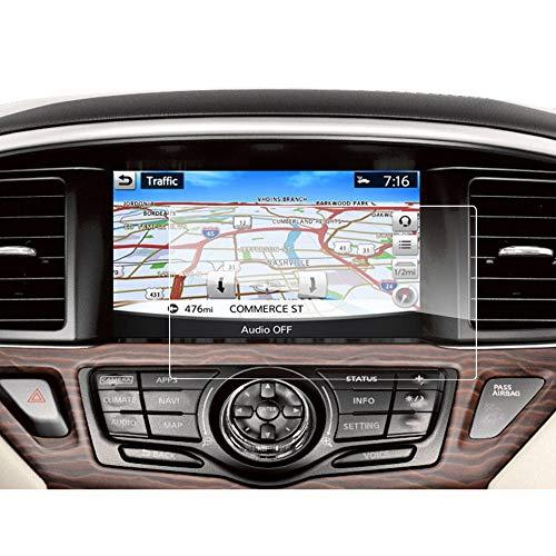 LUOERPI Pantalla táctil de navegación del Coche de 8 Pulgadas, Protector de Pantalla de Vidrio Templado 9H, para Nissan Pathfinder Connect 2013-2018