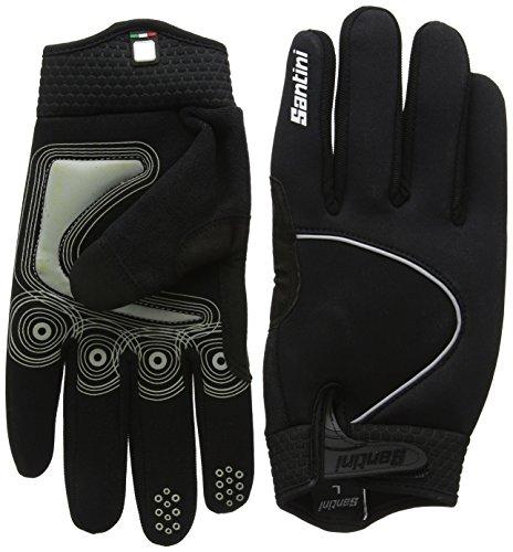 Santini 365 Studio Airtech Handschuhe-schwarz, Größe S