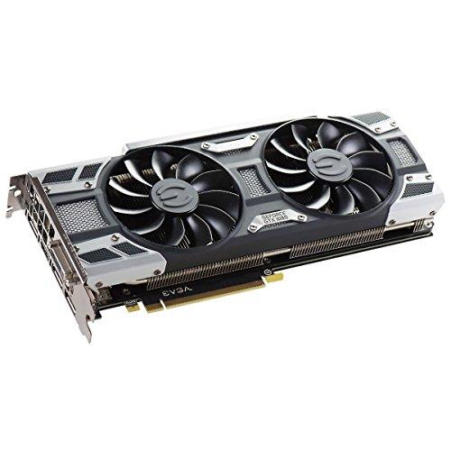 EVGA GeForce GTX 1080 GAMING ACX 3.0, 8GB GDDR5X, LED, DX12 OSD Support (PXOC) Graphics Card 08G-P4-6181-KR