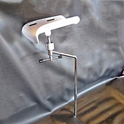 NACHEN Chirurgische Bettfußstütze ABS Weiße Fußstütze 304 Edelstahlstange Geeignet Für Amputationshalterung, OP-Tisch Zubehör