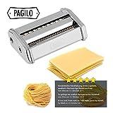 PAGILO Nudelmaschine (7 Stufen) für Spaghetti, Pasta und Lasagne   2 Jahre Zufriedenheitsgarantie   Pastamaschine, Pastamaker - 7