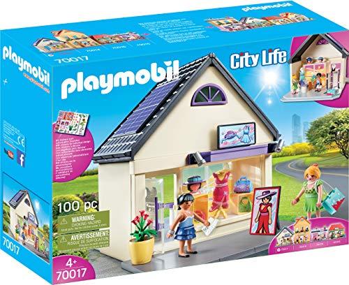 PLAYMOBIL City Life Mi Tienda de Moda, A partir de 4 años (70017)