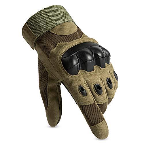 Huntvp Táctical Guantes Pantalla Táctil Dedo Completo Militar Guantes de Moto Guantes...