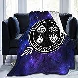 Ddsss RWBY Ruby Weiss Rose Blake Yang Luxury Flannel Blanket Queen Size Velvet Plush Throw Microfiber Blanket All Season 80x60 Inch