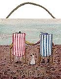Sam Toft (Perfect Day) 20 x 20 cm Impression sur Bois