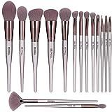 BS-MALL Makeup Brush Set 15pcs Makeup Brushes Premium Synthetic Bristles Powder Foundation Blush