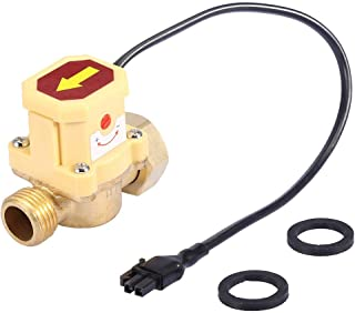 G3 / 4-G1 / 2 Rosca Interruptor de Sensor de Flujo de Agua Líquida