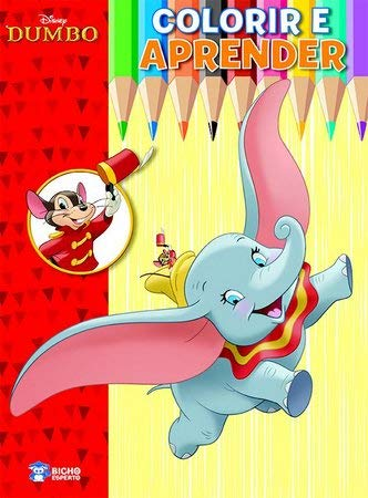 Colorir e Aprender Disney - Dumbo
