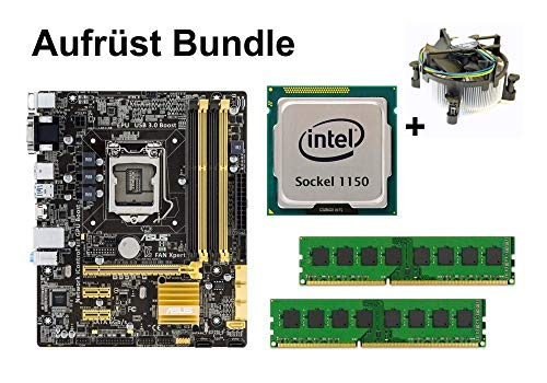 Aufrüst Bundle - ASUS B85M-G + Xeon E3-1270 v3 + 32GB RAM #73026