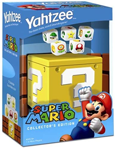 últimos estilos Yahtzee Super Super Super Mario by USAopoly  tienda en linea