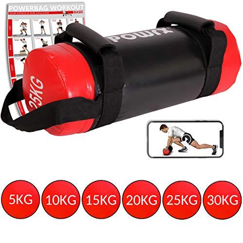 POWRX Sandbag 5-30 kg - Ideal para...