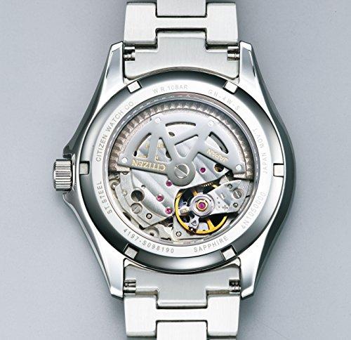 『[シチズン]CITIZEN 腕時計 CITIZEN-Collection シチズンコレクション メカニカル 日本製 シースルーバック NP1010-51E メンズ』の3枚目の画像
