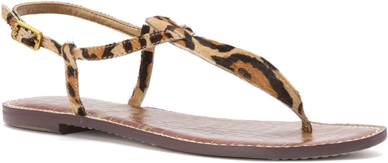 Sam Edelman Woherren Gigi New Nude Leopard Sandal 4.5 M    Ausgezeichnetes Preis