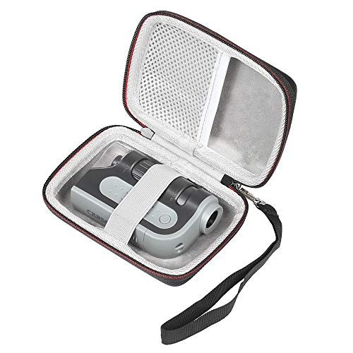 LuckyNV Portable Carrying Case for Carson MicroBrite Plus 60x-120x Power LED Lighted Pocket Microscope