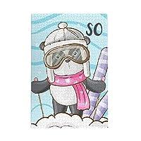 木製パズル 可愛いパンダ 寒い冬 1000 ピース ジグソーパズル 遊び 雰囲気 減圧 おもちゃ 漫画 壁飾り 学生 子供 大人 絵画 贈り物