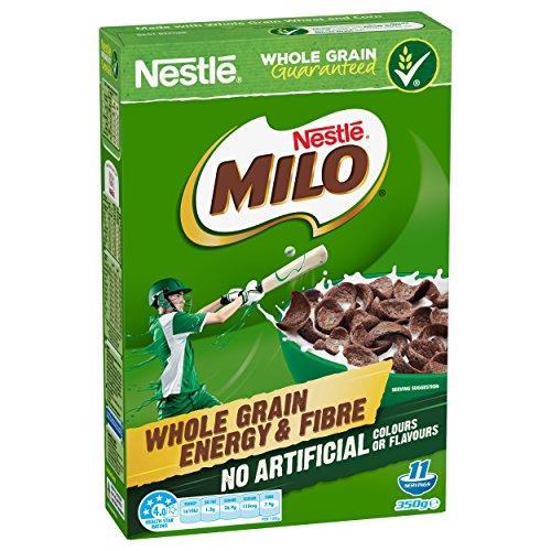 NESTLÉ MILO Cereal, Whole Grain, Energy & Fibre, 350g