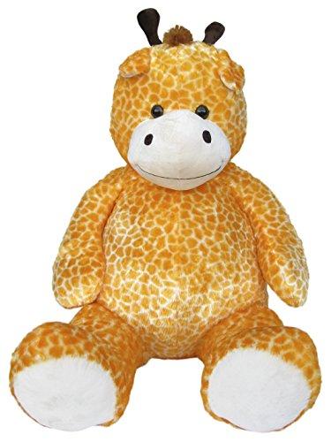 Wagner 9066 - Riesen XXL Giraffe 150 cm groß - Teddybär Plüschbär Kuschelbär Teddy Plüschgiraffe 1,50 m