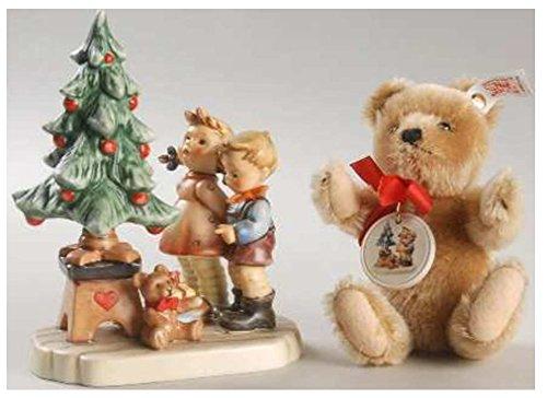 Goebel 02 015 90 7-2015 Am Weihnachtsbaum (mit Steiff-Teddy) - Hummel Figur