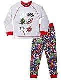 Marvel Pyjama Garçon, Ensemble Pyjama 2 Pièces Super Doux avec Iron Man, Hulk, Thor et...