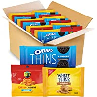 48-Count Nabisco Oreo Ritz Thins Chocolate Sandwich Cookies Variety Pack