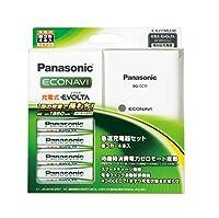 Panasonic 単3形充電式EVOLTA 4本付(スタンダードモデル) 急速充電器セット K-KJ11MLE40