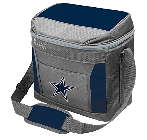 Rawlings unisex Coleman NFL Soft-Sided Insulated Cooler Bag, 16-Can Capacity, Dallas Cowboys Blue