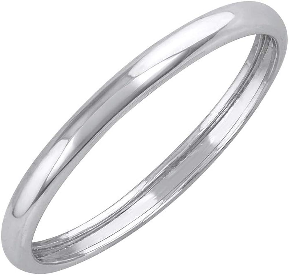 950 Platinum 2 Max 73% OFF mm Wedding Band Plain Fresno Mall