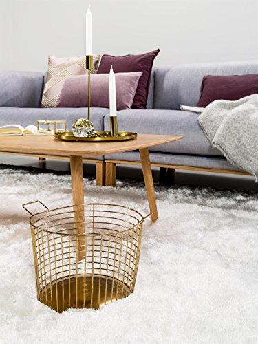 benuta Shaggy Whisper dywan z wysokim runem, biały, 80 x 150 cm, do sypialni i salonu