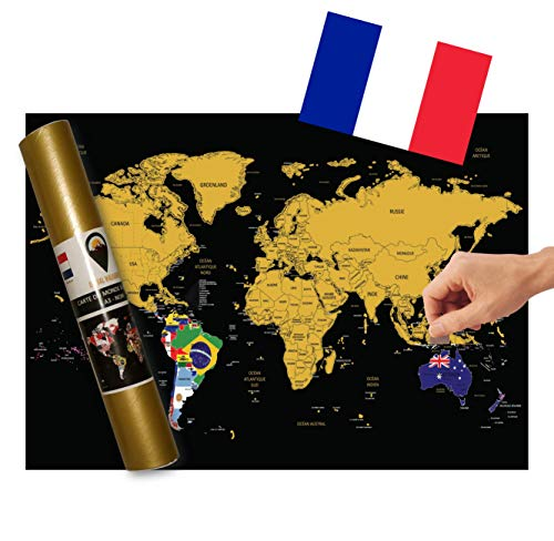 Global Walkabout française – Carte à gratter...