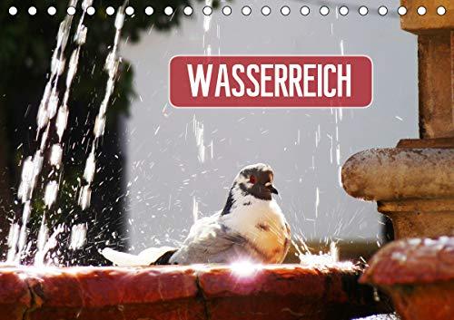 Wasserreich (Tischkalender 2021 DIN A5 quer)