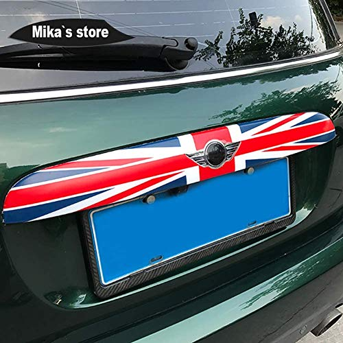 HYNB Auto Outdoor Kofferbak Deksel Achterklep Deurklink Streep Beschermhoes Sticker Voor Mini Cooper F55 F56 2014-2016, C